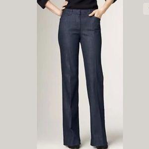 Talbots Heritage Slim Flare Denim Trouser Jeans